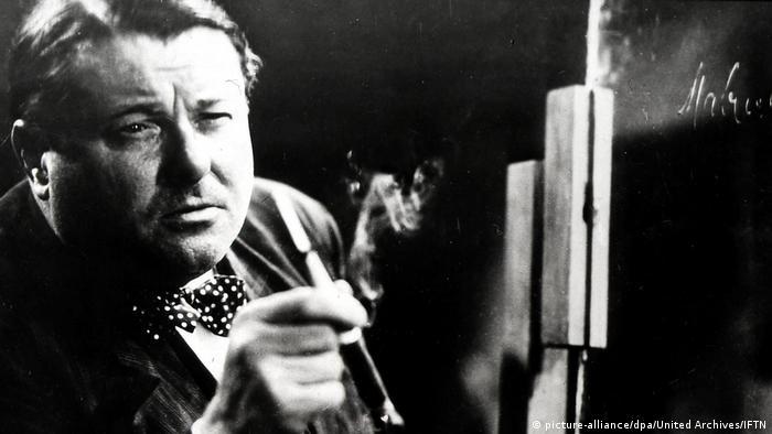 El inspector Lohmann buscado pistas sobre Mabuse.