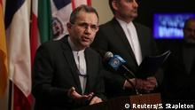 USA | UN- Sicherheitsrat | Iranischer Botschafter Majid Takht Ravanchi