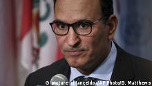 USA | UN- Sicherheitsrat | Kuweits Botschafter Mansour Al-Otaibi