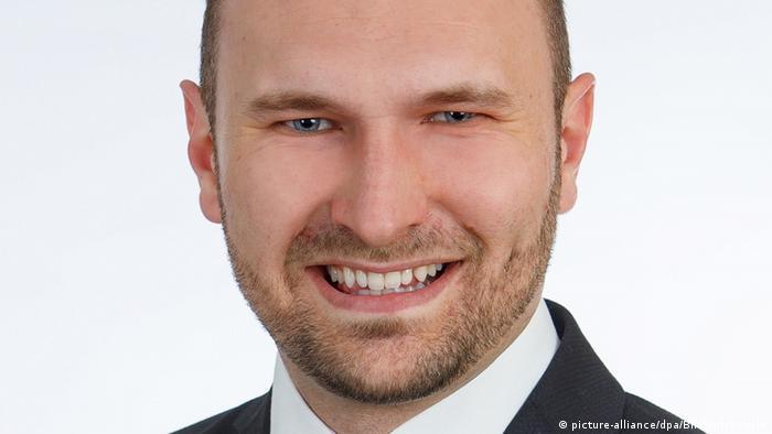 Депутат ландтага Гессена от АдГ Дмитрий Шульц