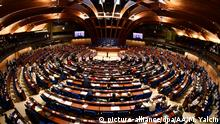 General view of the Parliamentary Assembly of the Council of Europe