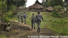 Myanmar Grenzpolizei