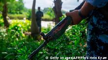 Myanmar Rakhine Militär Symbolbild