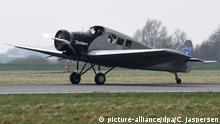 BdT Deutschland 100 Jahre Erststart - Junkers F 13 kommt nach Dessau