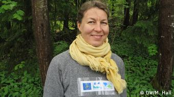Eija Hume, head of Finland's Flying Squirrel LIFE project