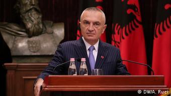 Albanien PK Ilir Meta (DW/A. Ruci)