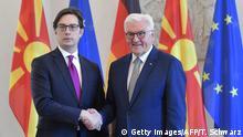 Deutschland Frank-Walter Steinmeier empfängt Stevo Pendarovski