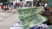 Simbabwe Dollar Einführung Neue Währung 2016