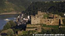 Deutschland Burg Rheinfels am Rhein über St. Goar