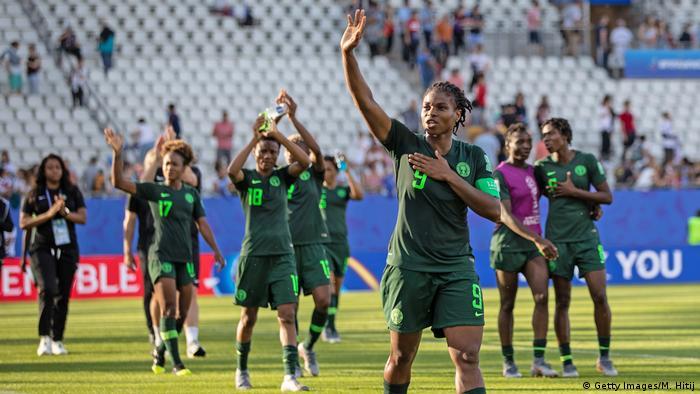 Fußball WM 2019 Frauen Team Nigeria