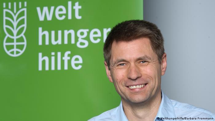 Mathias Mogge of Welthungerhilfe
