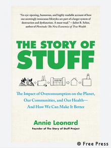 Buchcover The Story of Stuff (Free Press)