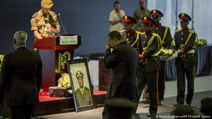 Äthiopien Trauerfeier für General Seare Mekonnen