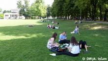 Deutschland Hitze Sommer in Bonn