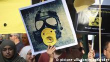 Deutschland Hamburg Demonstration gegen syrische Chemiewaffen-Angriffe