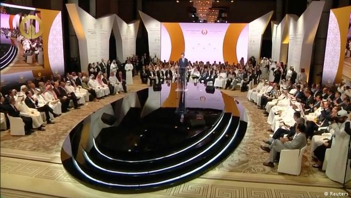 Bahrain Eröffnung der Peace to Prosperity Konferenz in Manama