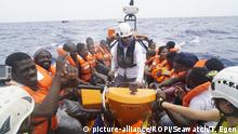 Italien Sea Watch 3 Rettungsaktion vor Lampedusa