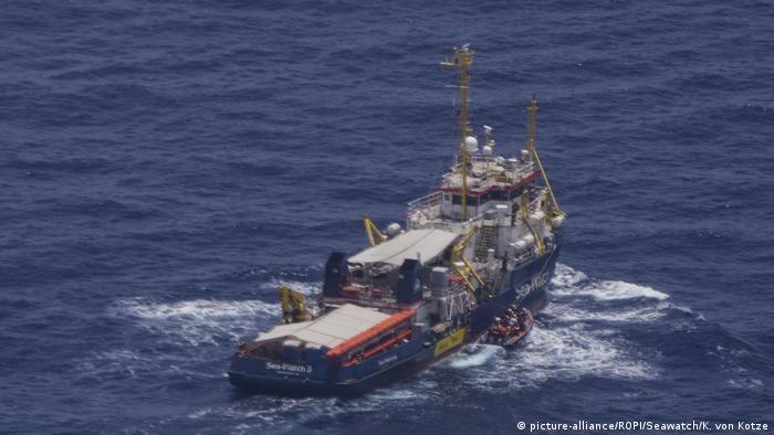 Menschengerichtshof: Kein Hafen für Sea-Watch