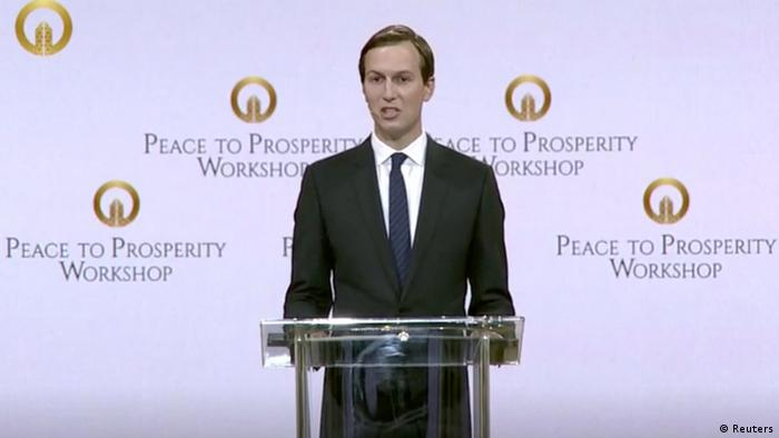Bahrain Eröffnung der Peace to Prosperity Konferenz in Manama | Jared Kushner (Reuters)