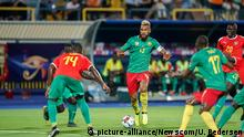 June 25, 2019: !c13! during the 2019 African Cup of Nations match between Cameroon and Guinea-Bissau at the Ismailia stadium in Ismailia, Egypt. Ulrik Pedersen/CSM. Photo via Newscom picture alliance |