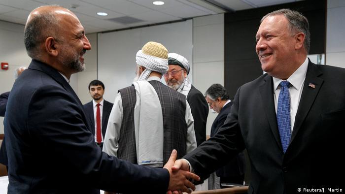 Mike Pompeo besucht Afghanistan (Reuters/J. Martin)