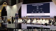 Bahrain, Manama: Jared Kushner auf der Peace to Prosperity Konferenz