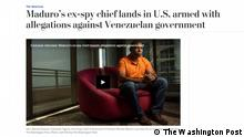 Gen. Manuel Ricardo Cristopher Figuera, the ex-spy chief of Venezuela's President Nicolas Maduro, sat down for an exclusive interview with The Washington Post. (Photo: Josh Ritchie/The Washington Post) Quelle, https://www.washingtonpost.com/world/the_americas/maduros-ex-spy-chief-lands-in-us-armed-with-allegations-against-venezuelan-government/2019/06/24/b20ad508-9477-11e9-956a-88c291ab5c38_story.html?noredirect=on&utm_term=.f0c4fdac3cd8 Aufgerufen am: 25.06.2019