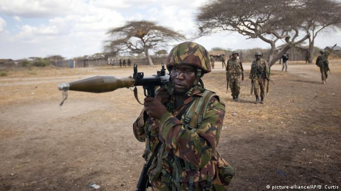 Somalia, Tabda: Soldaten aus Kenia