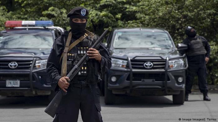 Nicaragua Spezialeinheit der Polizei