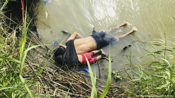 Mexico US Border Migrant Deaths (picture alliance/AP Photo)