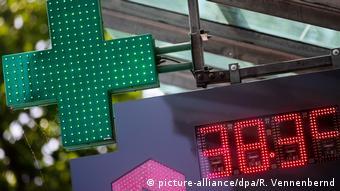 Την Τρίτη η θερμοκρασία στο Ντίσελντορφ έδειχνε 38,3 βαθμούς Κελσίου