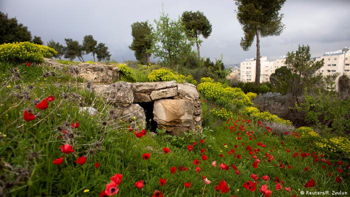 Ammunition Hill in Ostjerusalem (Reuters/R. Zvulun)