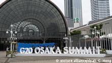 Vor dem G20-Gipfel in Osaka