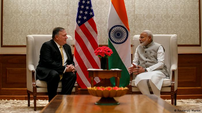 Indien | USA | Staatsbesuch Mike Pompeo | Narendra Modi (Reuters/J. Martin)