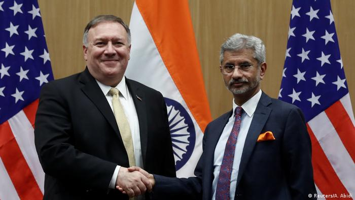 Indien | USA | Staatsbesuch Mike Pompeo |