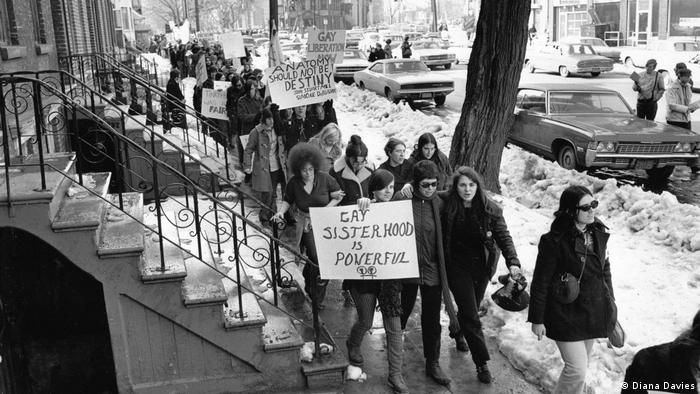First LGBT civil rights march on Albany, New York's state capital, 1971
