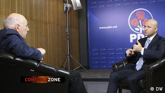 Conflict Zone Interview mit Tim Sebastian & Vladimir Cebotari