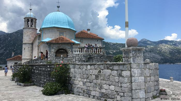 Church of Our Lady of the Rocks in Montenegro (DW/C. Deicke)