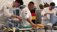 Deutschland Potsdam Vorbereitungen zur Kocholympiade