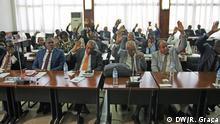 Abstimmung im Parlament über den Antrag der Regierung zu unterstützen (São Tomé und Príncipe) 06/2019