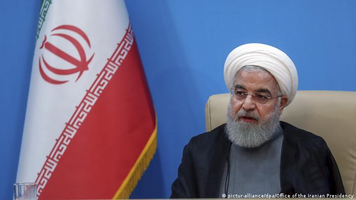 Iran Teheran Hassan Rohani (pictur-alliance/dpa/Office of the Iranian Presidency)