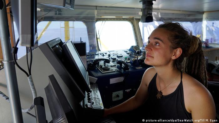 Sea-Watch Captain Carola Rackete