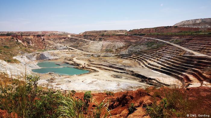 Mais de 4 mil toneladas de cobalto forame extraídas da mina de Ruashi em 2018