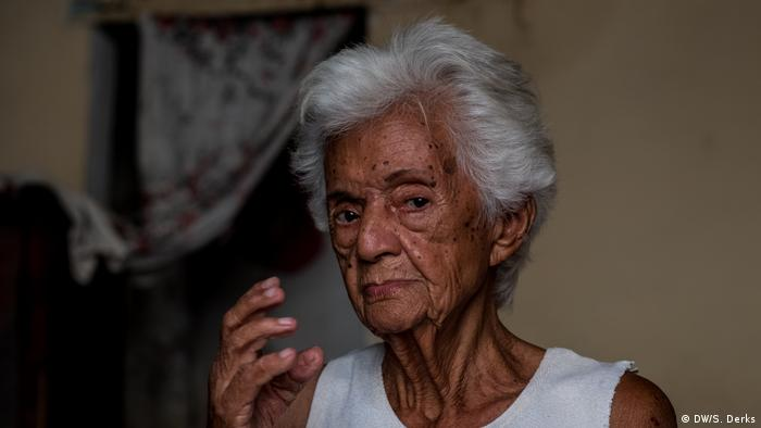 A Cuban woman in her home