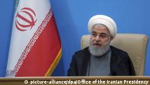 Iran Präsident Hassan Rohani (picture-alliance/dpa/Office of the Iranian Presidency)