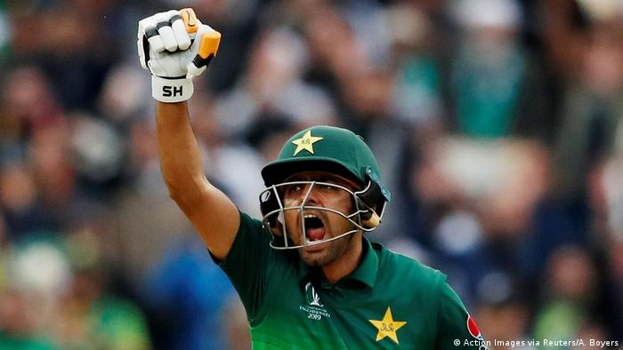 ICC Cricket World Cup 2019 Neuseeland - Pakistan | Babar Azam (Action Images via Reuters/A. Boyers)