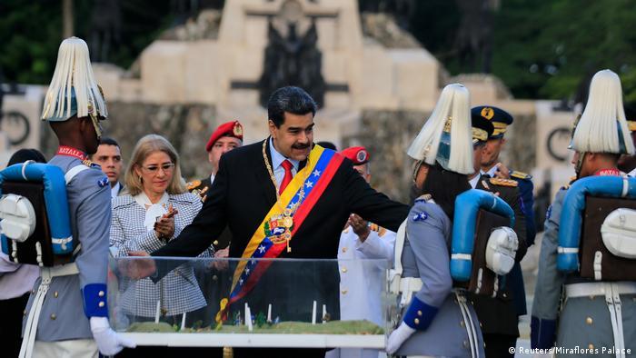 President Nicolas Maduro in Caracas