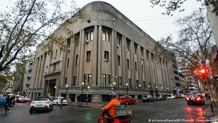 Carcel Central de Montevideo, de donde escapó Morabito en 2019.