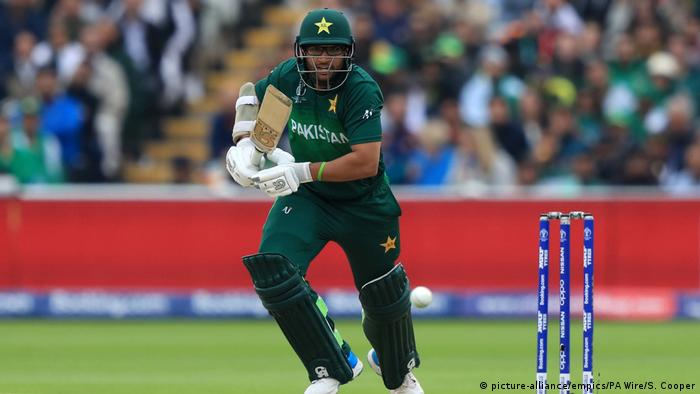 ICC Cricket World Cup 2019 Neuseeland - Pakistan | Imam-ul-Haq (picture-alliance/empics/PA Wire/S. Cooper)