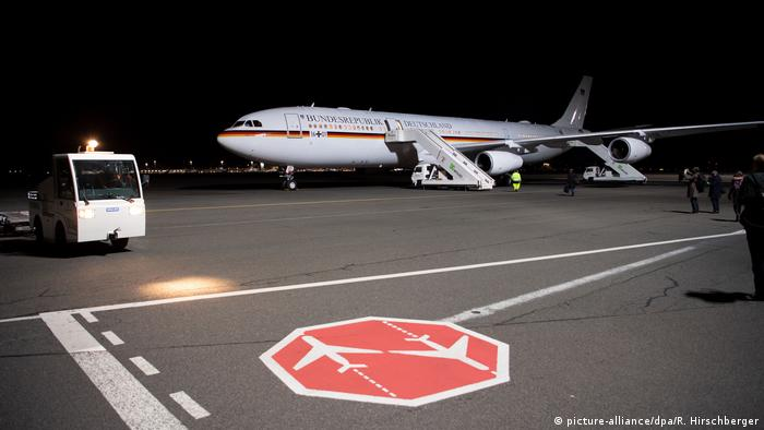 Merkel to fly with two German government Airbus A340s to G20